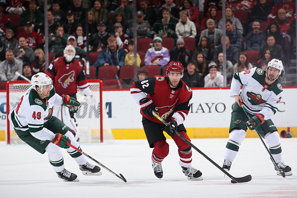 minnesota wild vs arizona coyotes