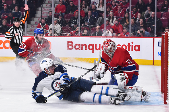 winnipeg jets vs montreal canadiens