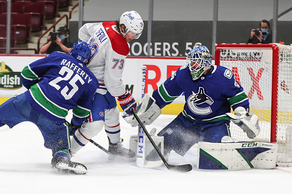 Montreal Canadiens vs Vancouver Canucks