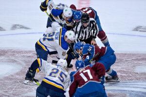 St Louis Blues vs Colorado Avalanche