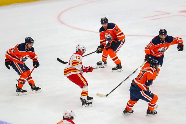 Edmonton Oilers vs Calgary Flames