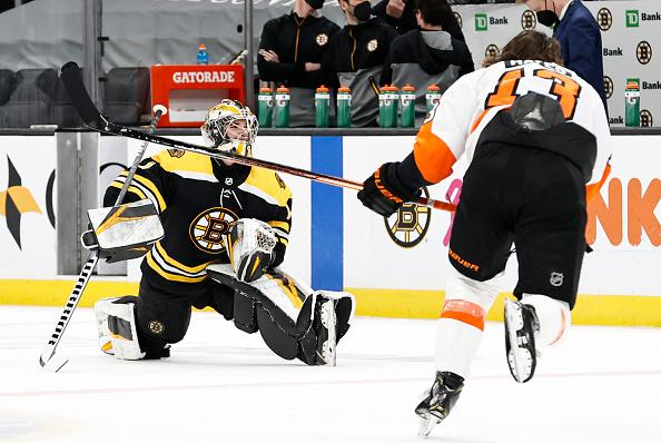 Bruins Goalie Tandem