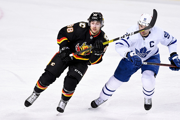 Calgary Flames vs Toronto Maple Leafs