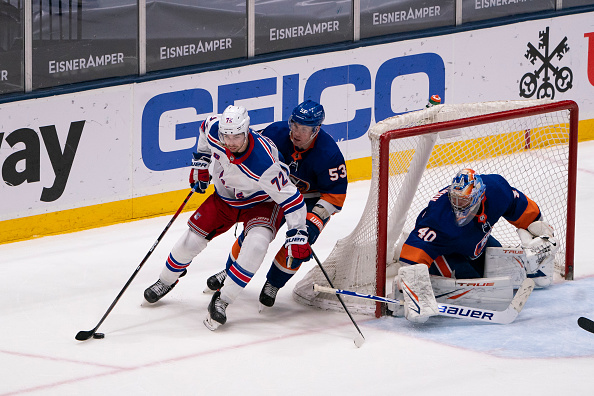 New York Rangers vs New York Islanders