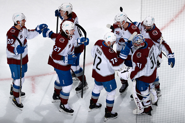 NHL post Colorado Avalanche postponed games