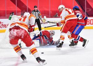 Calgary Flames vs Montreal Canadiens
