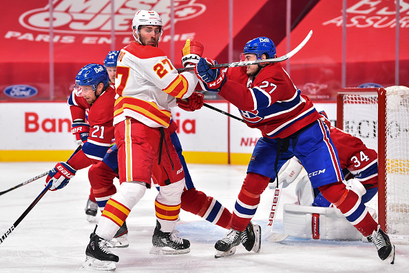 Montreal Canadiens vs Calgary Flames
