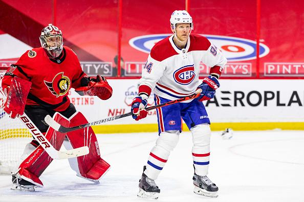 Corey Perry Ottawa Senators vs Montreal Canadiens