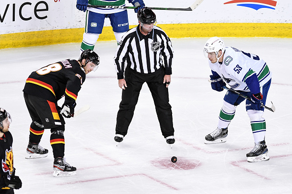 Vancouver Canucks vs Calgary Flames