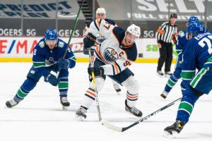 Vancouver Canucks vs Edmonton Oilers