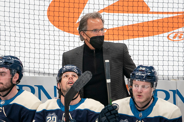 columbus blue jackets coach