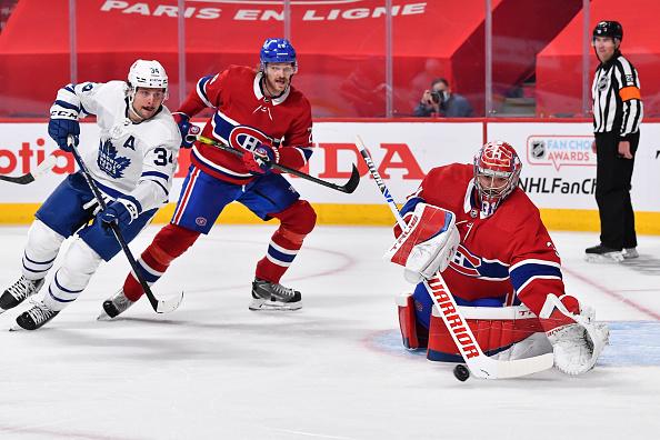 Montreal Canadiens vs Toronto Maple Leafs, Jon Merrill Injured