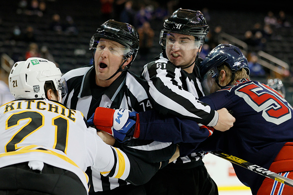New York Rangers vs Boston Bruins