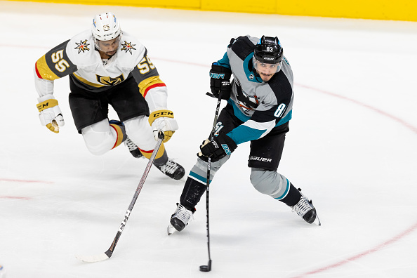 Matt Nieto Extension with San Jose Sharks