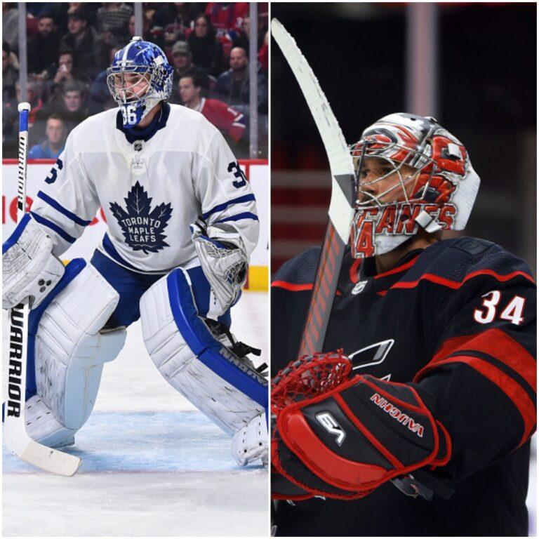 Toronto Maple Leafs goaltending