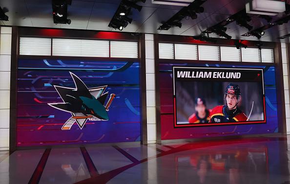 William Eklund 2021 San Jose Sharks Prospects