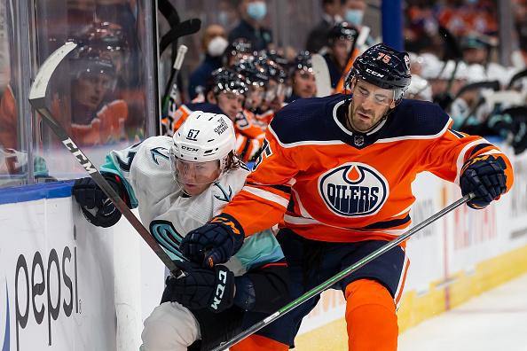 Edmonton Oilers Preseason featuring Evan Bouchard