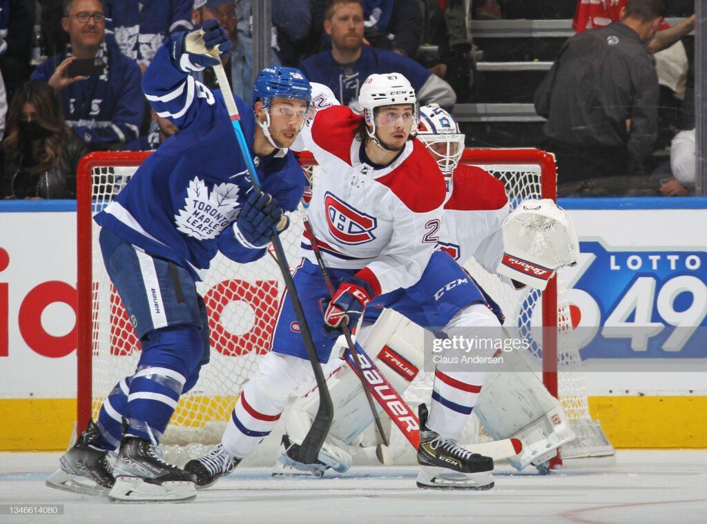 Michael Bunting brilla temprano para Maple Leafs esta temporada