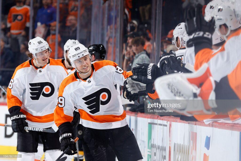 Cam Atkinson, Philadelphia Flyers Rachas calientes y frías: 17 al 23 de octubre