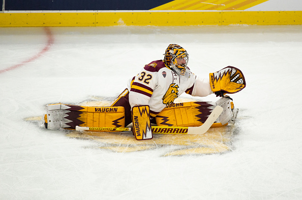 college Hockey free agents, Hunter Shepard