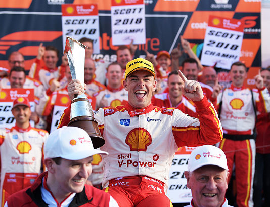 Scott McLaughlin takes 'second chance' to achieve V8 Supercars title