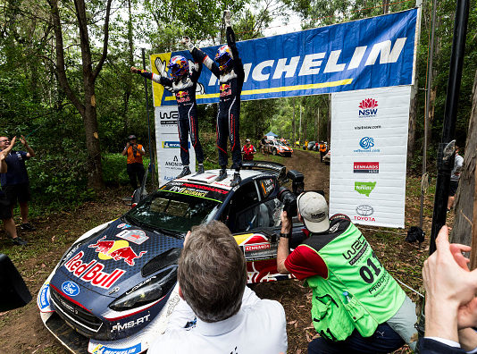 Sebastian Ogier wins Sixth WRC title at Rally Australia