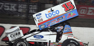 Schatz does it again, Schatz Spoils Haudenschild's Speed