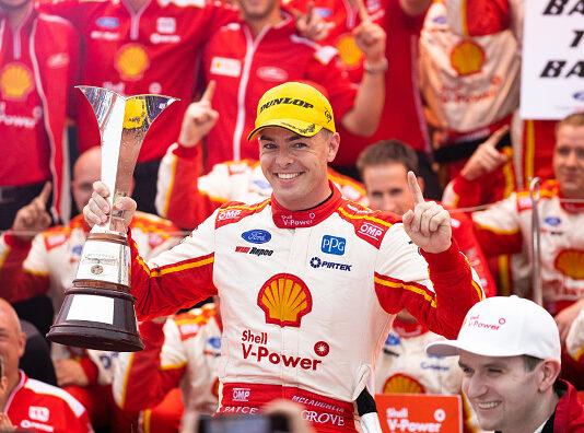 Shell V-Power Racing cap off amazing Supercar season for Scott McLaughlin