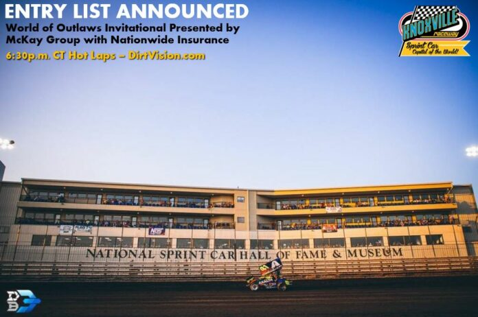 Knoxville Entry List Announced