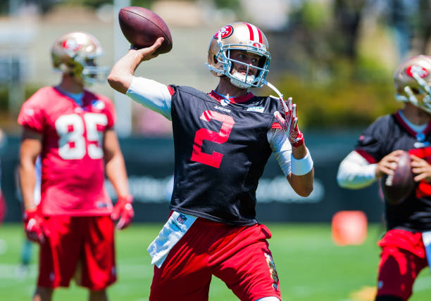 best cheap b87b7 c3eb9 San Francisco 49ers Quarterback: Why There's Hope in 2018 ...