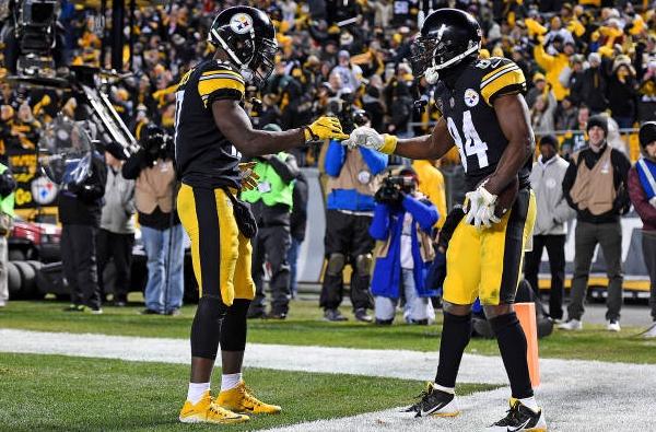 Pittsburgh Steelers Receiving Corps