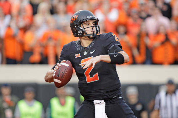 timeless design 660a0 b6cbf Why the Pittsburgh Steelers Should Draft Mason Rudolph ...