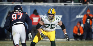 Packers offensive line vs Bears defensive line