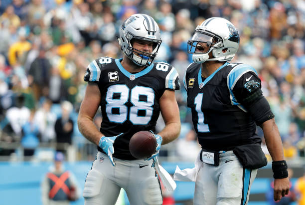new product feb5a 6f70b The Inseparable Duo of Cam Newton and Greg Olsen