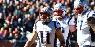 Patriots receivers