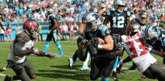 Carolina Panthers Move to 6-2