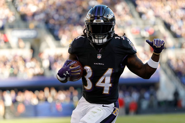 the best attitude 50835 aa749 Alex Collins Placed On Injured Reserve and Kenneth Dixon ...