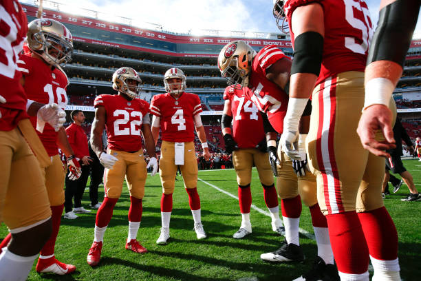 sale retailer 3cce9 1af19 San Francisco 49ers 2018 Report Card Leaves Room for Improvement