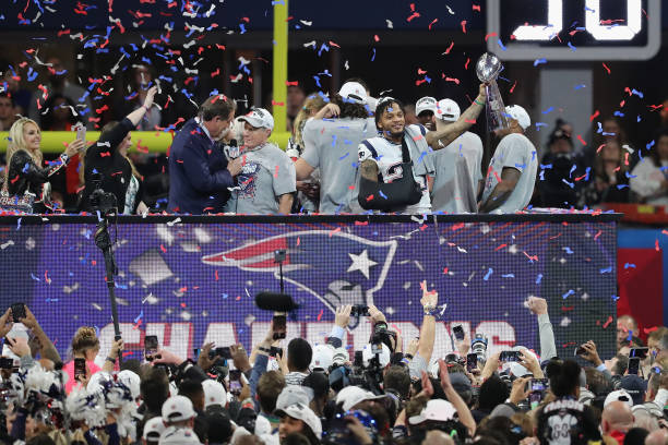 Patriots Win Super Bowl