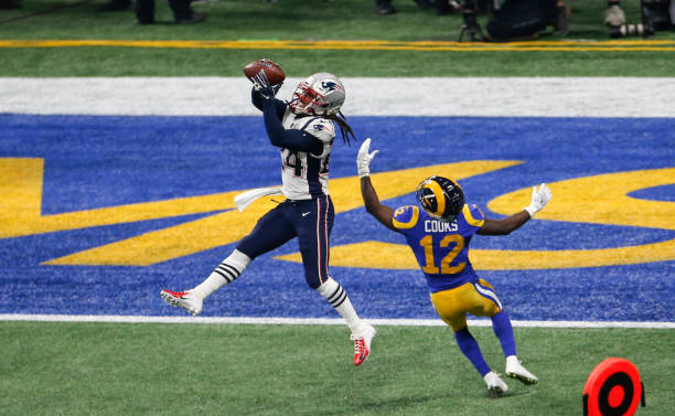 Patriots cornerbacks