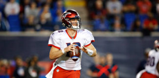 AAF Quarterback Rankings