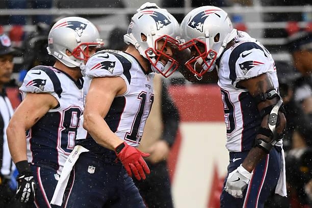 Patriots wide receivers