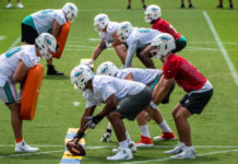 Dolphins roster projection