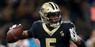 New Orleans Saints quarterback Teddy Bridgewater