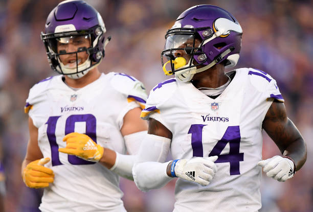 huge selection of dce57 36105 Draft Stefon Diggs Over Adam Thielen in Fantasy Football