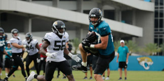 Jaguars Tight End Duo