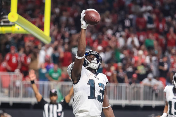 wholesale dealer 41c34 e3ec6 Nelson Agholor A Must-Start in Fantasy Football -LWOPF