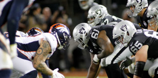 Oakland Raiders Offensive Line