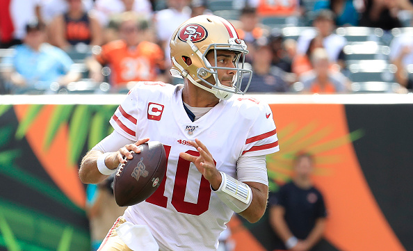 factory price cfb1d 8fc31 Jimmy Garoppolo & Mason Rodolph hold keys for 49ers and ...