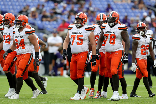 Cleveland Browns Offensive Line